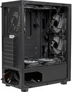 (1019738) Корпус Formula V-LINE 7706 черный без БП ATX 8x120mm 2xUSB2.0 2xUSB3.0 audio bott PSU