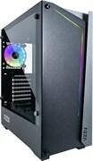 (1019774) Корпус Formula V-LINE 205X-02 черный без БП ATX 1x120mm 2xUSB3.0 audio bott PSU