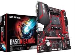 (1019872) Материнская плата Gigabyte B450M GAMING Soc-AM4 AMD B450 2xDDR4 mATX AC`97 8ch(7.1) GbLAN RAID+VGA+DVI+HDMI