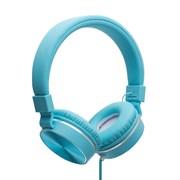 (1019819) Наушники Gorsun GS-776 (blue) с микрофоном и регулятором громкости