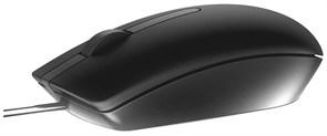 (1019801) Мышь Dell MS116 RTL черный оптическая (1000dpi) USB (2but)