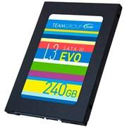 "(1019909) SSD жесткий диск SATA2.5"" 240GB L3 EVO T253LE240GTC101 TEAMGROUP"