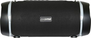 (1020031) Колонка порт. Digma S-39 черный 25W 1.0 BT/USB 3000mAh (SP3925B)