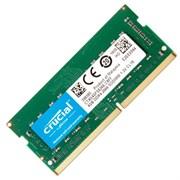 (1020022) Память DDR4 8Gb 2666MHz Crucial CT8G4SFS8266 RTL PC4-21300 CL19 SO-DIMM 260-pin 1.2В single rank