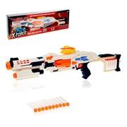(1020005) Бластер War soul gun pro, стреляет мягкими пулями, работает от батареек    4300976