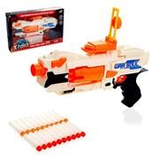 (1020006) Бластер War soul gun, стреляет мягкими пулями, работает от батареек    4300975