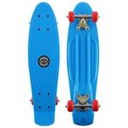 (1019993) Скейтборд 56x15 см, колеса PVC 50 мм, АВЕС 7, алюминиевая рама, цвета микс 134276