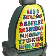 (1019973) Накидка-незапинайка Буквы, пвх, 61 х 46 см 2765775