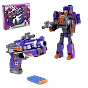"""(1019987) Робот-трансформер """"Бластер"""", трансформируется в робота, стреляет мягкими пулями   4353149"""