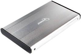 """(1020050) Внешний корпус 2.5"""" Gembird EE2-U3S-5-S, серебро, USB 3.0, SATA, металл"""