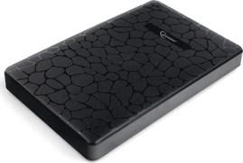 "(1020055) Внешний корпус 2.5"" Gembird EE2-U3S-30P, черный, USB 3.0, SATA, пластик"
