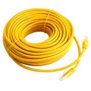 (1020061) Патч-корд UTP Cablexpert кат.5e, 20м, литой, многожильный (жёлтый)