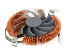 (1020064) Кулер CROWN для процессора CM-B751TPWM( Универсальный сокет для Intel и AMD, безвинтовой крепление, TDP 75 Ватт, коннектор 4 pin,PWM, Высота 28мм, Шариковый подшипник,Размер: 110*94*28 мм)
