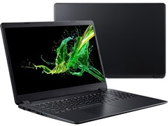 """(1020163)Ноутбук Acer Aspire 3 A315-42-R1MX Ryzen 5 3500U/8Gb/SSD256Gb/AMD Radeon Vega 8/15.6""""/FHD (1920x1080)/Linux/black/WiFi/BT/Cam"""