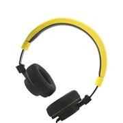 (1020203) Наушники Gorsun GS-788 (yellow) с микрофоном и регулятором громкости