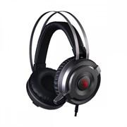 (1020281) Наушники с микрофоном A4 Bloody G520 серый 1.8м мониторные USB (G520)