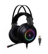 (1020282) Наушники с микрофоном A4 Bloody G528C черный 2м мониторные USB (G528C)