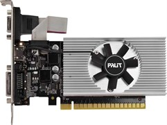 (1020288) Видеокарта Palit PCI-E PA-GT730K-2GD5 NV GT730 2048Mb 64b GDDR5 902/2500 DVIx1/HDMIx1/CRTx1/HDCP Bul