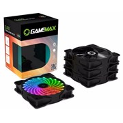 (1020861) GameMAX CL400 Комплект вентиляторов 4*120мм RGB в комплекте с контроллером