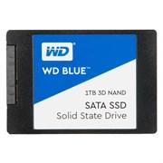 "(1020850) Накопитель SSD WD Original SATA III 1Tb WDS100T2B0A Blue 2.5"""