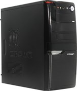 (1020829) Корпус Miditower CROWN CMC-SM160 USB3.0 black ATX (CM-PS450W smart)