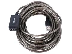 (1021117) Telecom Кабель USB2.0-repeater, удлинительный активный <Am-->Af> 10м <TUS7049-10M>