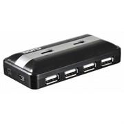 (1021102) Разветвитель USB-C Digma HUB-7U2.0-UC-B 7порт. черный