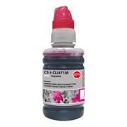 (1021081) Чернила Cactus CS-I-CLI471M пурпурный100мл для Canon Pixma MG5740/MG6840/MG7740/TS5040/TS6040/TS8040