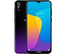 (1021003) Смартфон Doogee Doogee X90L Phantom Purple, 6.1'' 19:9 600x1280, 1.5GHz, 4 Core, 3GB RAM, 32GB, up to 128GB flash, 5Mpix+8Mpix/5Mpix, 2 Sim, 2G, 3G, LTE, BT, Wi-Fi, GPS, Micro-USB, 3400mAh, Android 9.0 (Pie), 150g, 156,8 ммx75,25 ммx9 мм, W