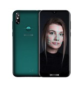 (1021001) Смартфон Doogee Doogee X90L Emerald Green, 6.1'' 19:9 600x1280, 1.5GHz, 4 Core, 3GB RAM, 32GB, up to 128GB flash, 5Mpix+8Mpix/5Mpix, 2 Sim, 2G, 3G, LTE, BT, Wi-Fi, GPS, Micro-USB, 3400mAh, Android 9.0 (Pie), 150g, 156,8 ммx75,25 ммx9 мм, Wa
