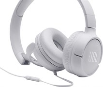 (1020994) Гарнитура накладная JBL T500, 32 Ом, белые