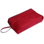 (1020871) Сумка для обуви 37*10*16, 1 отд на молнии, красный   2577907