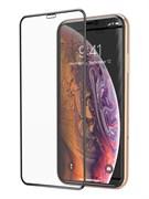 (1022716) Стекло защитное Full Glue Premium Krutoff для iPhone SE 2020 черное