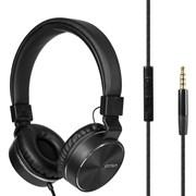 (1021056) Гарнитура Gorsun GS-789 (black) с микрофоном и регулятором громкости