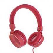 (1021058) Гарнитура Gorsun GS-789 (red) с микрофоном и регулятором громкости