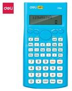 (1021129) Калькулятор научный Deli E1710A/BLU синий 10+2-разр.