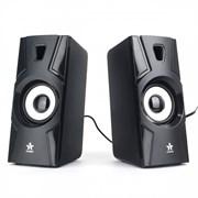 (1021459) Акустическая система 2.0 Гарнизон GSP-105, черный, 6 Вт, материал- пластик, USB - питание