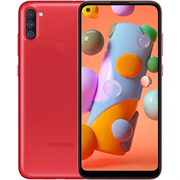 "(1021486) Смартфон Samsung SM-A115F Galaxy A11 32Gb красный моноблок 3G 4G 6.4"" 720x1560 Android 10 13Mpix 802.11 b, g, n NFC GPS GSM900, 1800 GSM1900 TouchSc MP3"