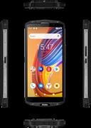 "(1021484) Смартфон Haier T5 64Gb 4Gb черный моноблок 3G 4G 2Sim 5.7"" 720x1440 Android 9.0 16Mpix 802.11 b, g, n NFC GPS GSM900, 1800 GSM1900 TouchSc Ptotect MP3 A-GPS microSD max64Gb"