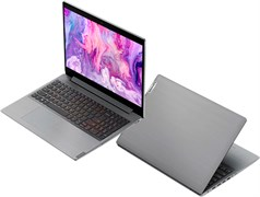 "(1021488) Ноутбук Lenovo IdeaPad L3 15IML05 Core i5 10210U, 8Gb, SSD256Gb, Intel UHD Graphics, 15.6"", TN, FHD (1920x1080), noOS, grey, WiFi, BT, Cam"