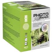 (1021497) Фотобумага Cactus CS-MA6230500 10x15/230г/м2/500л./белый матовое для струйной печати
