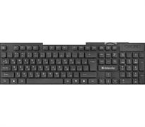 (1021514) Клавиатура USB ELEMENT HB-190 RU BLACK 45191 DEFENDER