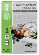 (1021593) Пленка для ламинирования Cactus 80мкм A5 (100шт) глянцевая 154x216мм CS-LPGA580100