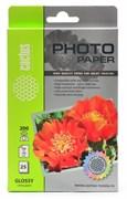 (1021580) Фотобумага Cactus CS-GA620025 10x15/200г/м2/25л./белый глянцевое для струйной печати