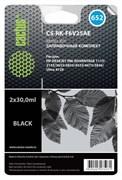 (1021578) Заправочный набор Cactus CS-RK-F6V25AE черный 60мл для HP DJ Ink Adv 1115/2135/3635/3835/4535