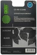 (1021575) Заправочный набор Cactus CS-RK-CC640 черный 60мл для HP DJ D1663/D2563/D2663/D5563