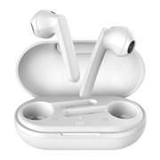 (1021564) Беспроводные наушники CROWN CMTWS-5009 white (Bluetooth 5.0, чипсет Airoha 1536, батарея в кейсе 500мАч, батарея в наушниках 40мАч, время воспроизведения до 24 часов при использовании зарядного чехла, перемотка треков, вызов голосового помо