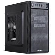 """(1021556) Корпус MiniTower CROWN CMC-403 black mATX (CM-450office) ( Office Тип: Mini Tower  Стандарт МП: Micro ATX Стандарт БП: ATX Размер: 370*185*375 мм; 0,4-0,5 мм SGCC ; Отсеки  5,25"""" внешний 2 шт. 5,25"""" внутренний 3 шт. 3,5"""" внешний 2 шт. 3,5"""""""