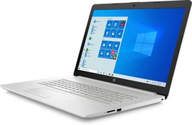 "(1021555) Ноутбук HP 17-by3024ur Core i3 1005G1, 4Gb, SSD128Gb, Intel UHD Graphics, 17.3"", SVA, HD+ (1600x900), Windows 10, silver, WiFi, BT, Cam"