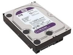 (1021628) Жесткий диск SATA 2TB 6GB/S 64MB PURPLE WD20PURZ WDC